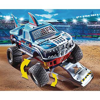 Playmobil Stunt Show Shark Monster Truck