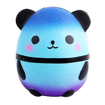Simulation créative Giant Panda Egg Child Décompression Slow Rebound Pu Toy