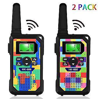 Kids' walkie talkies,3 km long range walkie talkie toys with 8 channels, 2 way radios, led flashligh
