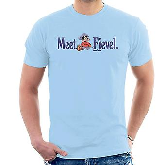 An American Tail Meet Fievel Mousekewitz Men's T-Shirt