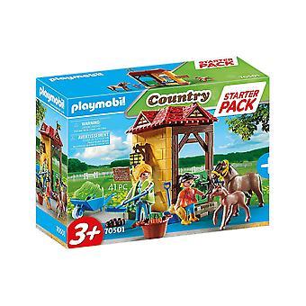 Playmobil 70501 Starter Pack Horse Farm