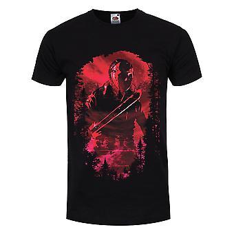 Grindstore Mens Jason Voorhees Silhouet T-shirt