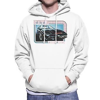 Knight Rider KITT The Supercomputer Men's Hooded Sweatshirt