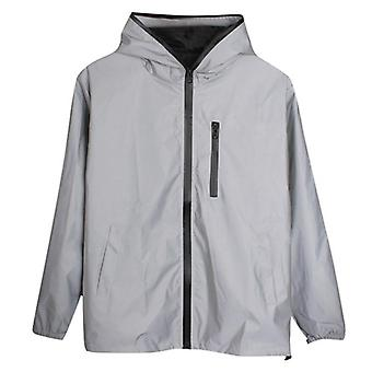 Lange Sport Outdoor Leisure Hooded Running Jas Windproof