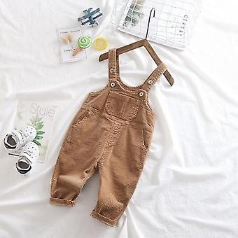 Spring Overalls Corduroy Jumpsuit For &