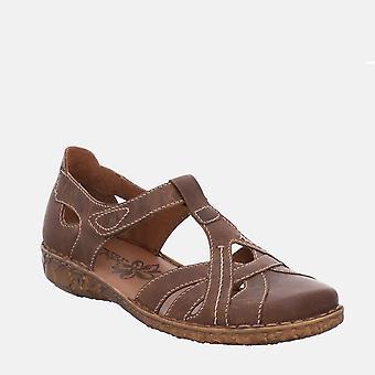 Rosalie 29 brandy - josef seibel ruskea ruskea ruskea nahka naisten sandaali