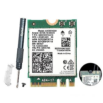Wireless Dual Band 2400mbps Wifi 6 For Intel Ax200 Ngff M.2 Bluetooth 5.1, Card