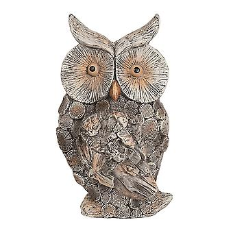 Straits Garden Decorative 40cm Owl Ornament