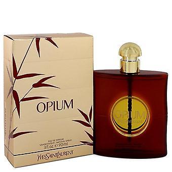 Opium Eau De Parfum Spray (New Packaging) By Yves Saint Laurent 3 oz Eau De Parfum Spray