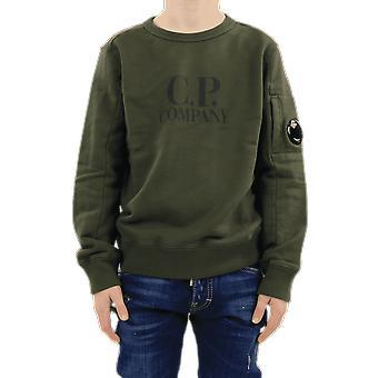 C.P.Company Sweatshirts - Crew Neck Green 10CKSS058003569W683 Top