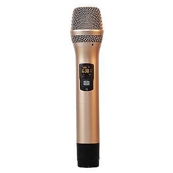Gaw-880 micrófono inalámbrico universal uhf fm karaoke casero cantando micrófono micrófono de audio palanca al aire libre