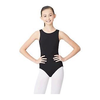 Capezio Dance Women's High Neck Tank, Black, Size US Women's L (Weight 110-160,