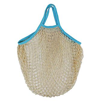 Portable Shopping Mesh Bag Reusable Net Bag Net Bag Cotton Shopping Vegetable Mesh Bag Storage