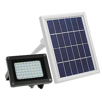 Solarbetriebene Fluter 54 led ip65 wasserdichte Lichter Outdoor-Sicherheit mit Halterung
