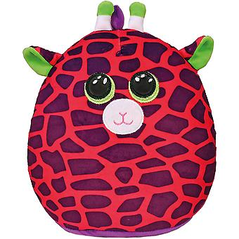 "TY Gilbert Giraffe Squish-A-Boo 10"""