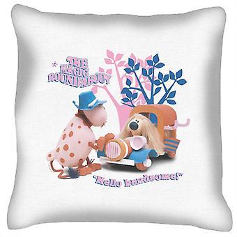 The Magic Roundabout Ermintrude & Dougal Hello Handsome Cushion