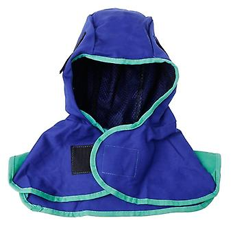 Blue Washable Flame Comfort Welding Neck Face Protection