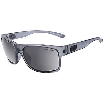 Dirty Dog Furnace Sunglasses - Crystal Grey / Grey Polarised