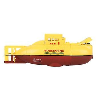 new Mini RC Submarine 3.7V Large Model RC Submarine(Yellow)
