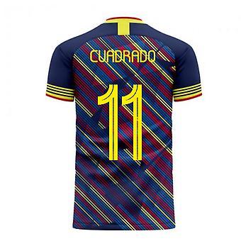 Colombia 2020-2021 Derde Concept Football Kit (Libero) (CUADRADO 11)