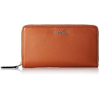Calvin Klein Z / A Wallet XL, Tilbehør Kvinders Travel Tegnebøger, Brown, One Size