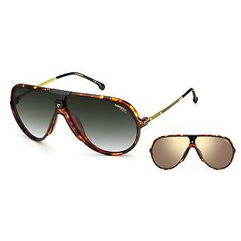 Carrera CHANGER 65 086/9K Havana/Green Shaded Sunglasses
