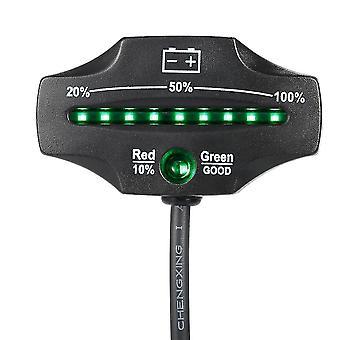 ل12/24V LED الرصاص حمض تخزين البطارية اختبار مؤشر البطارية مراقبة مستوى البطارية WS36073