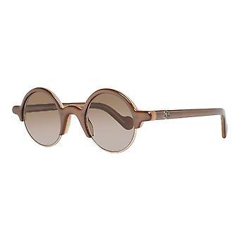 Unisex Sunglasses Moncler ML0062-45F Brown (ø 44 mm)