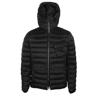 Barbour international men's black ouston jacket
