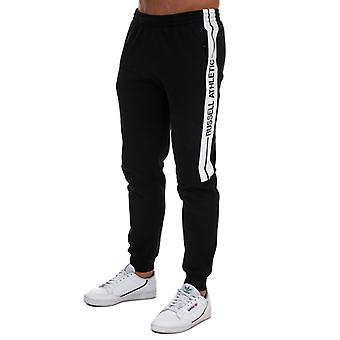 Men's Russell Athletic Cuffed Pants in Black