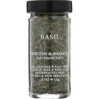 Morton & Bassett Basil, Case of 3 X 0.4 Oz