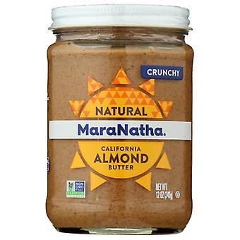 Maranatha Nut Bttr Almnd Nostir Crnchy, Case of 6 X 12 Oz