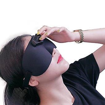Älykäs sähköpäähierontalaite Sähköpulssi hoito unettomuus parantaa nukkumista lievittää päänsärkyä ja stressi terveys silmänaamio
