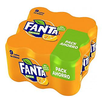 Osvěžující nápoj Fanta Orange (9 x 33 cl)