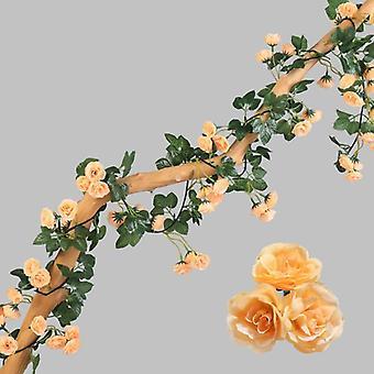 Tekokaaren kukat Garland