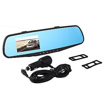 720p 2.8ltps Lustro Wideo Dash Dual Car Video Recorder Kamera tylna Dvr
