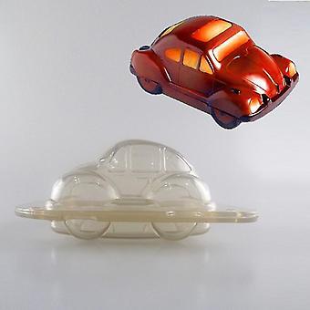 Heißer Verkauf DIY 3D Auto geformter Kunststoff Schokolade Form Backwerkzeuge Form DIY Candy Jelly Mold Kuchen