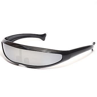 معكوسة عدسة قناع النظارات الشمسية للرجال النساء ركوب الدراجات تشغيل نظارات الصيد القيادة