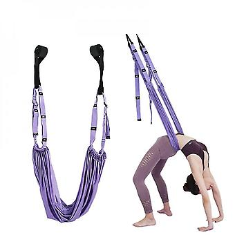 Leg Stretcher Strap, Stretching Equipment With Door Anchor Flexibility Trainer Backbend