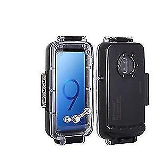Samsung s9 buceo shell caja impermeable (S9 + color transparente)