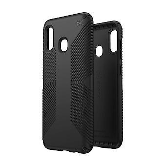 Speck Presidio Grip Case for Samsung Galaxy A20 - Black/Black