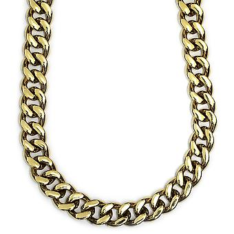 18k Gold Plated Miami Cuban Chain 18mm x 38 inches Filled 500g
