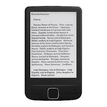 Lecteurs de livres électroniques alloyseed bk4304 ultra mince ebook ereader 4,3 pouces oed e-ink écran numérique e-book reader