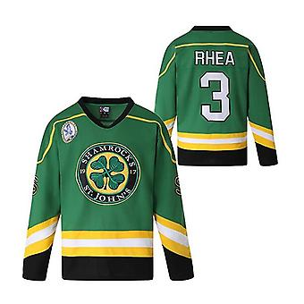 Ross The Boss Rhea #3 Ice Hockey Jersey, Halloween Costume, 90s Hip Hop Jerseys For Party