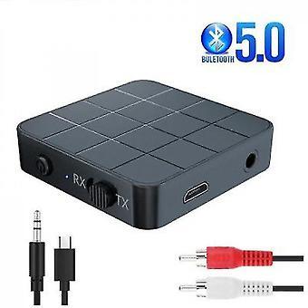 Caraele Bluetooth 5.0 オーディオレシーバートランスミッタ 3.5mm 3.5 Aux ジャック・ラカ