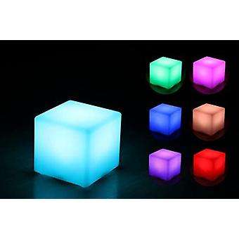 Led Cube 10 X 10 X 10 Cm Light Cube / Table Lamp 16 Colors Color Changing / Dimmable