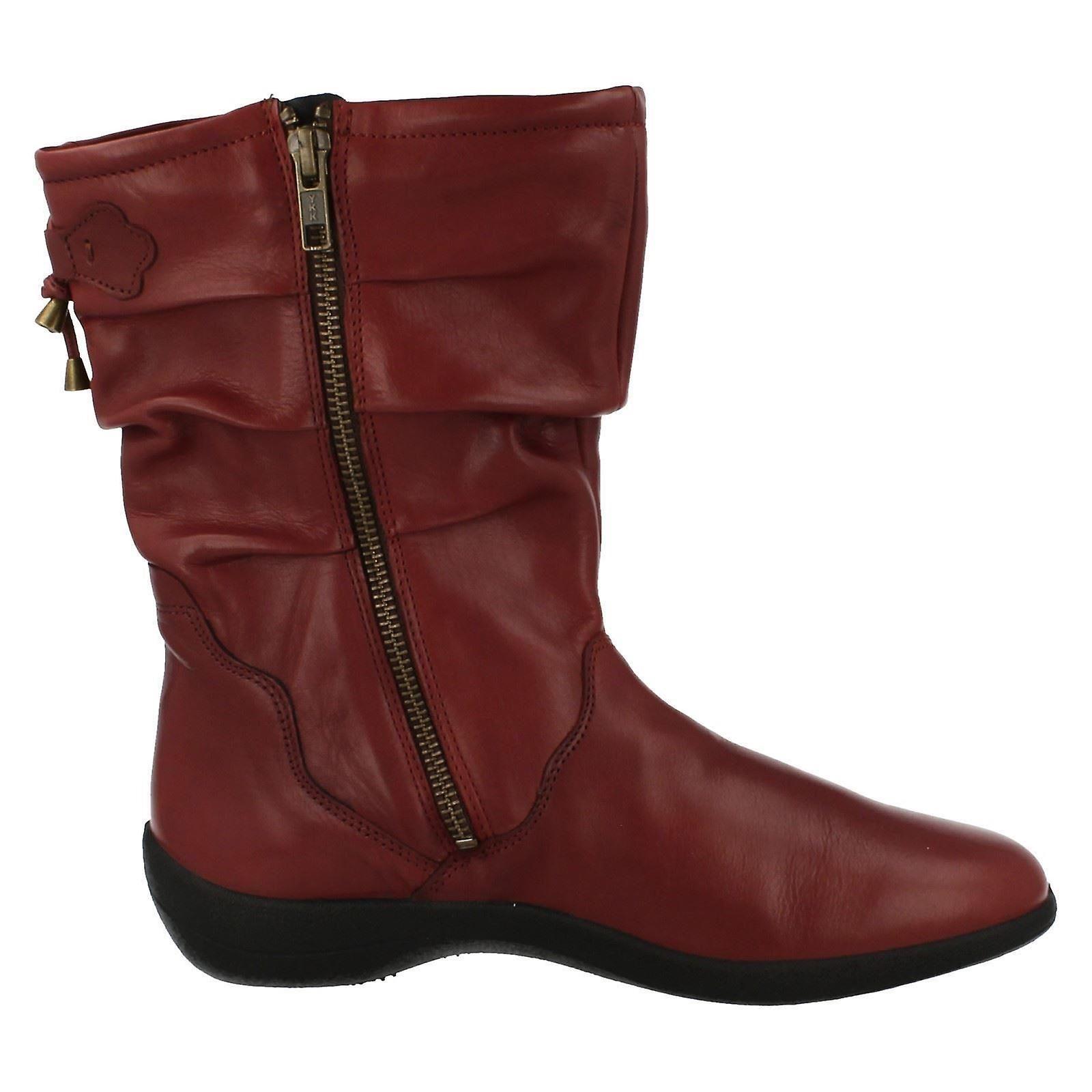Ladies Padders Calf High Casual Boots Regan