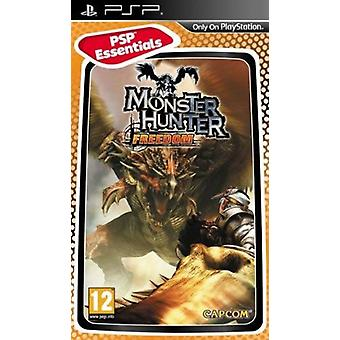 Monster Hunter Freedom Essentials Edition Sony PSP spil