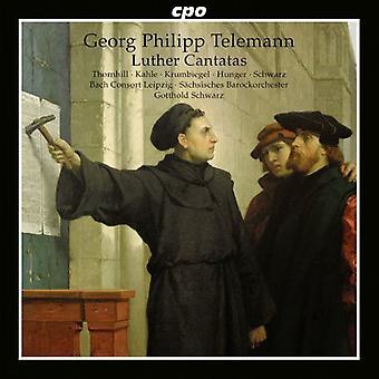 G.P. Telemann - Georg Philipp Telemann: Importación Estados Unidos Luther Cantatas [CD]