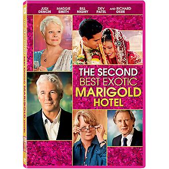 Second Best Exotic Marigold Hotel [DVD] USA import